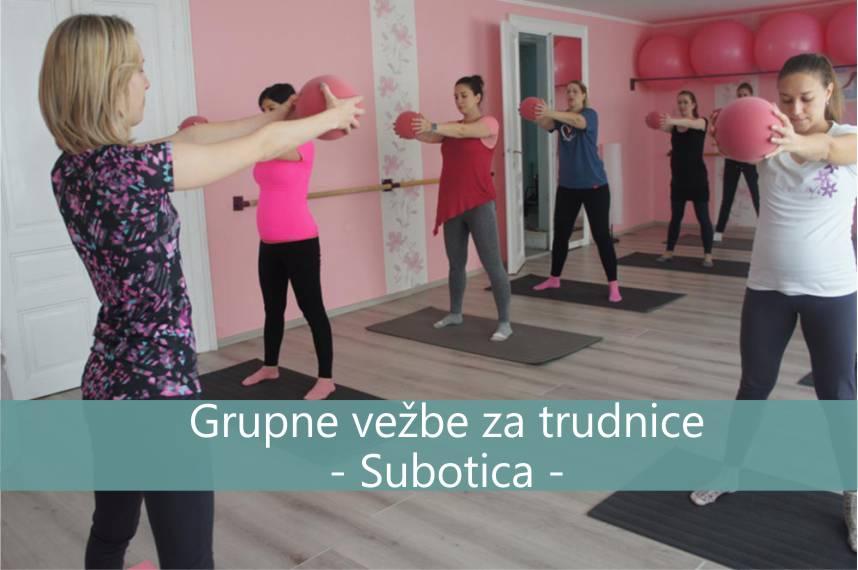Grupne vezbe za trudnice Subotica