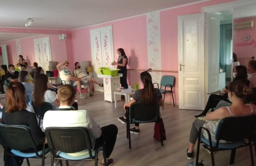 škola za trudnice Subotica -Telek Teodora predaje