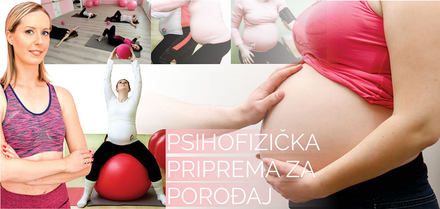Psichofizicka priprema za porodjaj sa Klaudijom